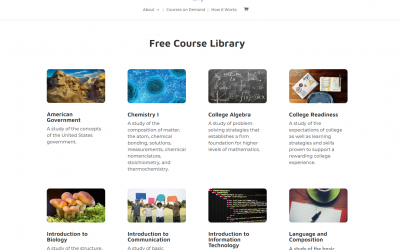 TEL Announces TEL Learning and Its Catalog of Free Course Materials