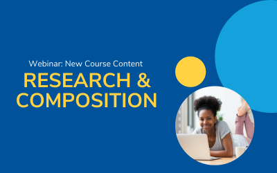 [Webinar] New Course Launch: Research & Composition